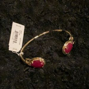 BNWT ♥️ dark ruby red KENDRA SCOTT bracelet